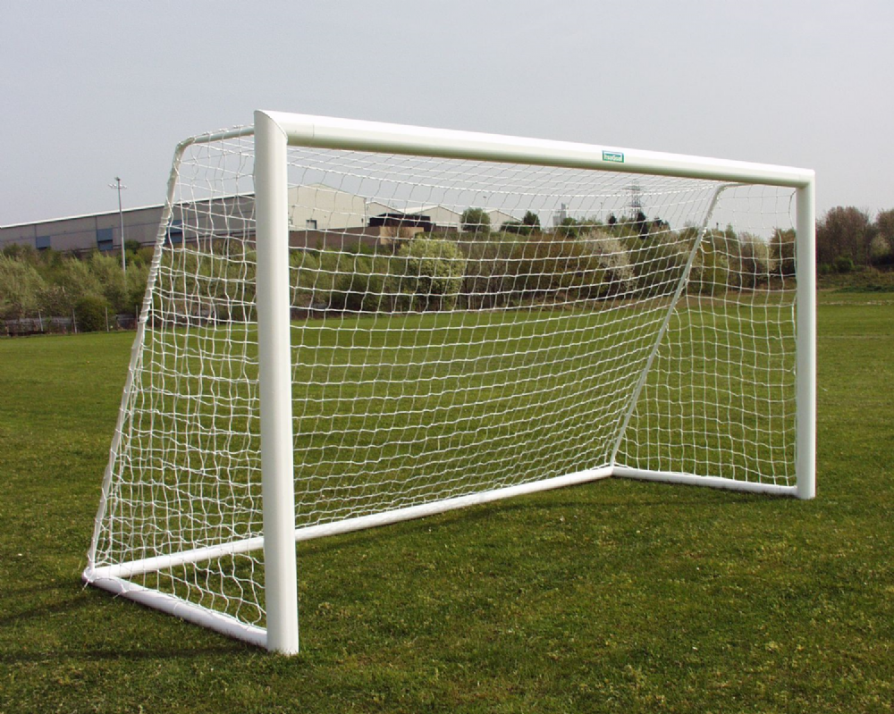 Aluminium Goal Post - Eliptical Freestanding Mini Soccer - 12 x 6
